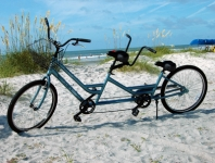 Tandem, Bike, Bikes, Bicycle, Vacation Comfort Rentals, Hilton Head Island