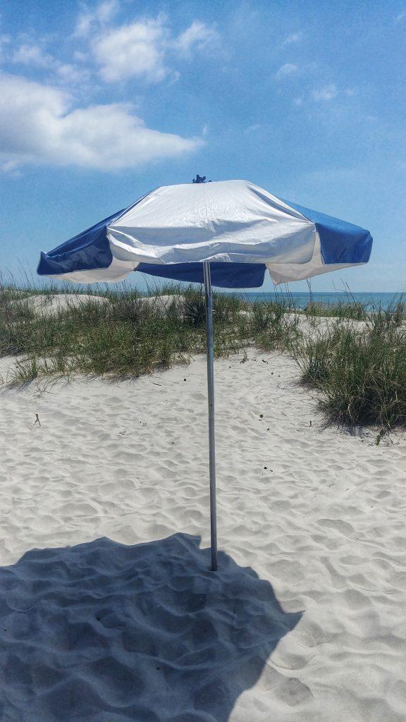 Beach Umbrella At Vacation Comfort Rentals Hilton Head