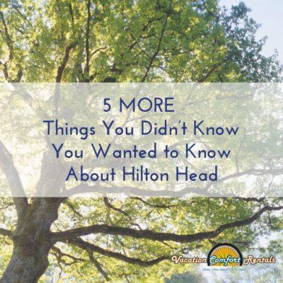 Hilton Head Fun Facts